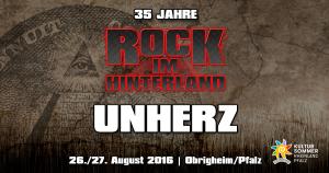 Rock im Hinterland 2016 - Unherz