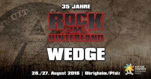 Rock im Hinterland 2016 - Wedge