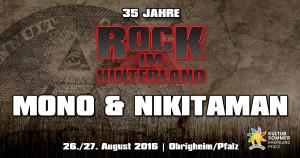 Mono &Nikitaman Rock im Hinterland 2016