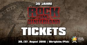 Rock im Hinterland 2016 Tickets