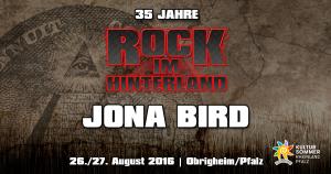 Rock im Hinterland 2016 - Jona Bird