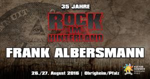 Rock im Hinterland 2016 Frank Albersmann